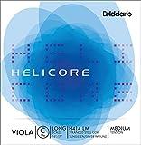 D'Addario ( ダダリオ ) 弦 ヘリコア C スチール / ダングステン シルヴァー巻 Viola ( ヴィオラ ) 用 H414LM