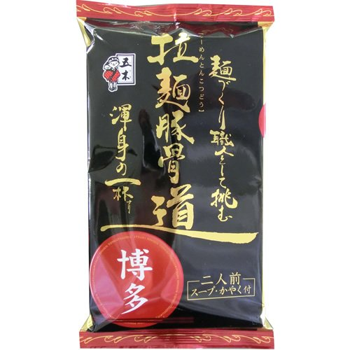 五木食品 拉麺豚骨道博多 274g(2食入り)