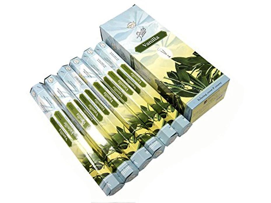 透明に思い出させる副詞FLUTE(フルート) バニラ香 スティック VANILLA 6箱セット