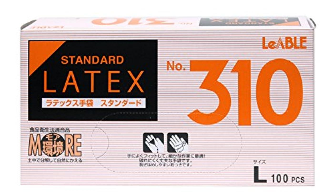 リスナーレビューリスナー大和工場 ラテックスゴム手袋 NO.310 Lサイズ 100枚