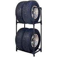 アイリスオーヤマ タイヤラック RV車 幅71×奥行45×高さ144 耐荷重 120kg KTL-710 ブラック