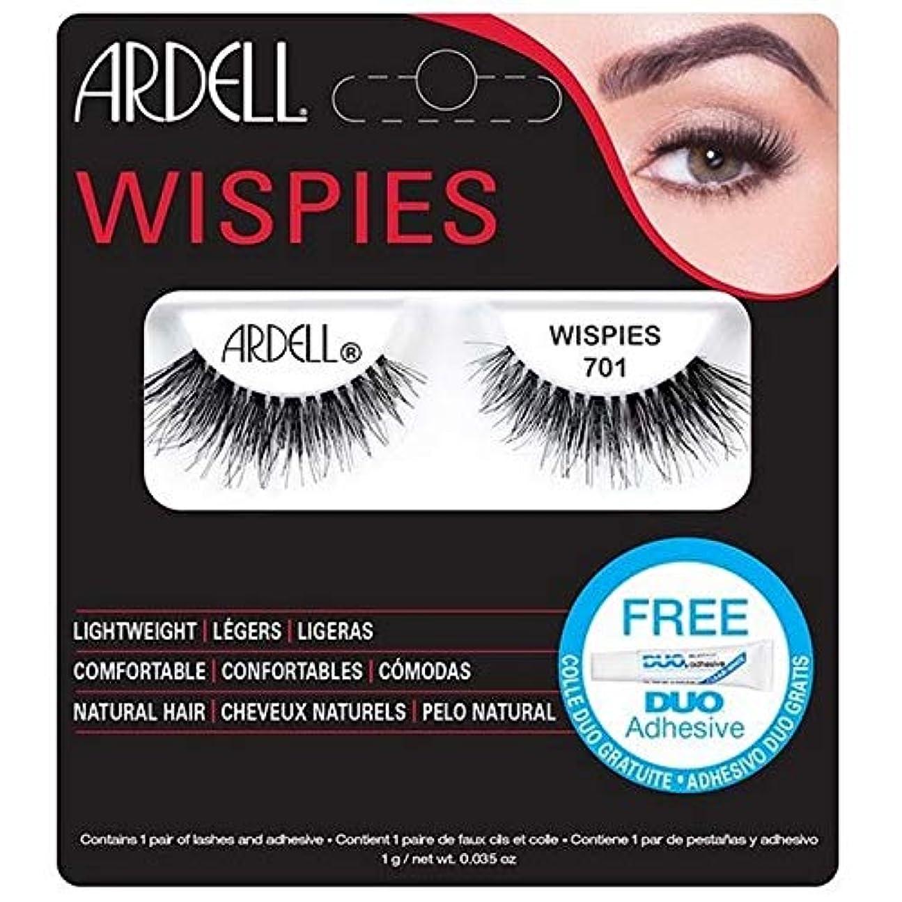 気をつけてアレルギー矛盾する[Ardell] ArdellまつげWispies 701 - Ardell Lashes Wispies 701 [並行輸入品]