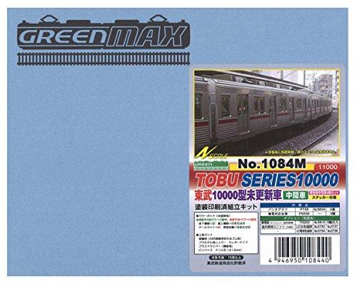 Nゲージ 1084M 東武10000系未更新車増結中間車4輛 (塗装済車両キット)