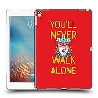 オフィシャル Liverpool Football Club スプレーペイント・レッド You'll Never Walk Alone クレスト iPad Pro 9.7 (2016) 専用ハードバックケース