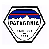 Patagonia パタゴニア ( patagonia ) FITZ ROY HEX STICKER 正規品 ステッカー デカール シール