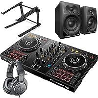 Pioneer DJ パイオニア DDJ-400 + ATH-M20 + DM-40 + LTSTAND 買い足し不要 DJスタートセット