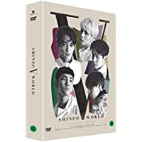 SHINee WORLD V in Seoul DVD 2DISC+Postcard Book+6Photocards+Folded Poster [KPOP MARKET特典: 追加特典フォトカードセット] [韓国版]