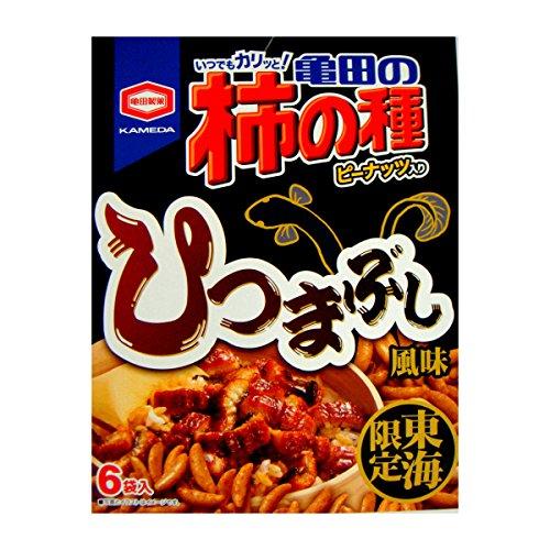 【東海限定】亀田の柿の種 ひつまぶし風味 24g×6袋入