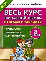 Ves kurs nachalnoi shkoly v skhemakh i tablitsakh 3 klass (in Russian)