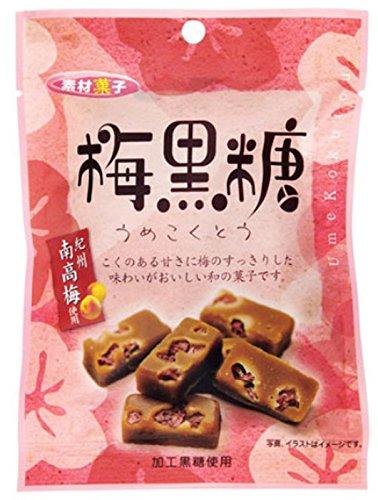 日本橋菓房 素材菓子 梅黒糖 袋6個