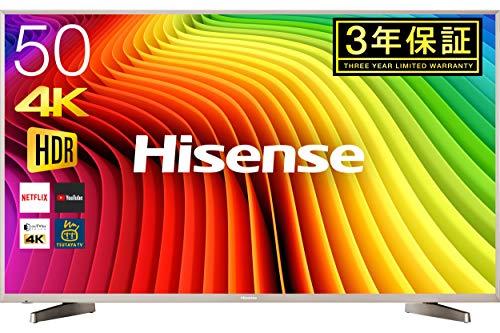 ハイセンス Hisense 50V型 液晶 テレビ HJ50N5000 4K 外付けHDD裏番組録画対応 HDR対応