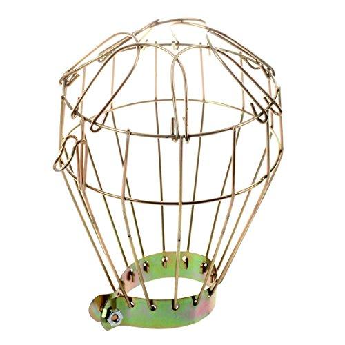 RoomClip商品情報 - SODIAL(R) 鉄線電球ケージ クランプオン 古い外観 ビンテージ照明 スチームパンク
