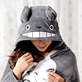 ジブリ トトロ コスプレ ハロウィン 衣装 Cosplay Totoro Ghibli Costume Cloak Shawl Cape [並行輸入品]