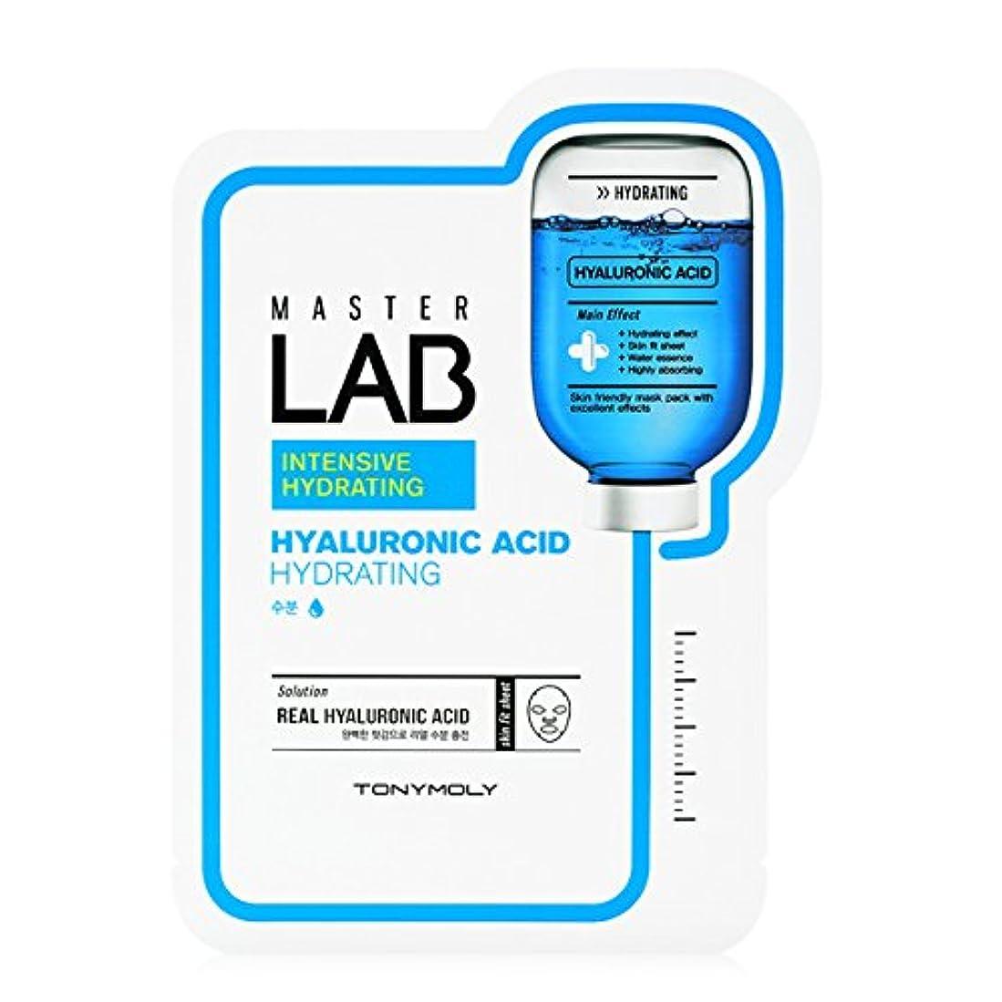 もっともらしい法令花瓶[New] TONYMOLY Master LAB Mask Sheet 19g×5ea/トニーモリー マスター ラブ マスクシート 19g×5枚 (#Hyaluronic Acid:Hydrating)