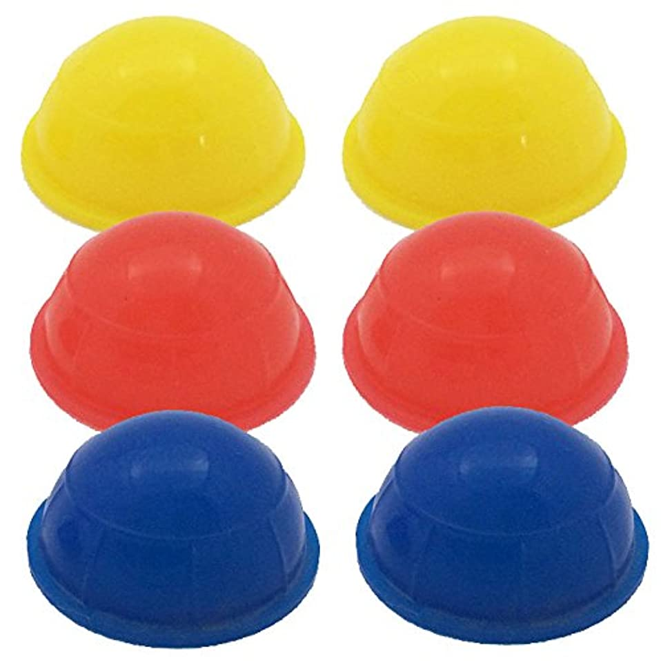 感謝祭応用三超ミニミニ吸い玉 6個セット シリコン製カッピング 直径3.5センチ