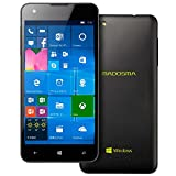 マウスコンピューター SimフリーWindowsPhone (Simフリー/Windows10 Mobile/5inch/MicroSD16GB同梱/保護シート付) MADOSMA Q501A-BK MADOSMA Q501A-BK