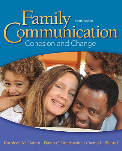 Download Family Communication: Cohesion and Change B017IOJVN2