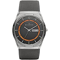 Skagen Men's SKW6007 Melbye Grey Titanium Mesh Watch