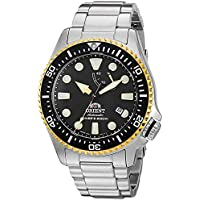 Orient Men's 'Triton' Japanese Automatic Stainless Steel Diving Watch, Color:Silver-Toned