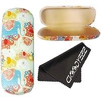 b3899765104a Clamshell Hard Shell Glasses Case - Durable Protective Holder for Eyeglasses