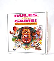 Rules of the Game! for those of you who THINK you know....Sports Board Game