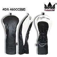CRAFTSMAN(クラフトマン)ゴルフヘッドカバー ウッドカバー ゴルフ クール 三片式設計 ブラック (DR460CC対応)