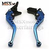 MSX-moto 長レバーと短レバー ブレーキレバー/クラッチレバー 6段階調整 適応ドゥカティ Ducati MS4 MS4R 01-06 M900 M1000 00-05 900SS 1000SS 98-06 996 998 748 750SS 99-02 MTS1000 07-09 ST4ST3 03-07 PAUL SMART 2006 S2R1000 06-08 青/ブルー