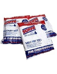 ソフィー SOFFE / #682M-3 コットン100% ミリタリーTシャツ 3-PACK MILITARY TEES (WHITE)