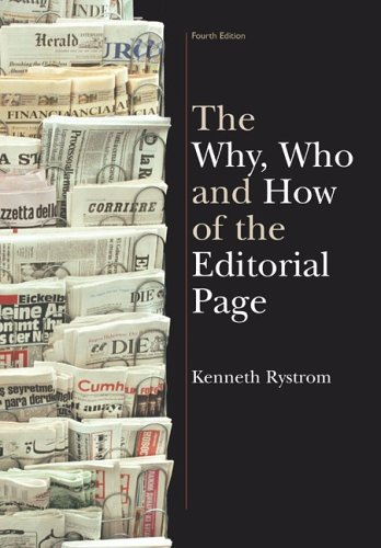 Download The Why, Who and How of the Editorial Page 1891136097