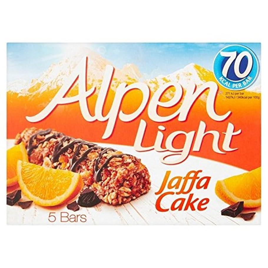 雲辞任引き金(Alpen (アルペン)) 光ヤッファケーキシリアルバー5×95グラム (x6) - Alpen Light Jaffa Cake Cereal Bars 5 x 95g (Pack of 6) [並行輸入品]