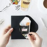 ダイカット ポストカード 型抜き 30枚 セット ( カフェダイアリー ) おしゃれ かわいい グリーティングカード メッセージカード 画像
