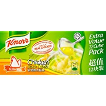Knorr Chicken No Added MSG Stock Cubes, 120g