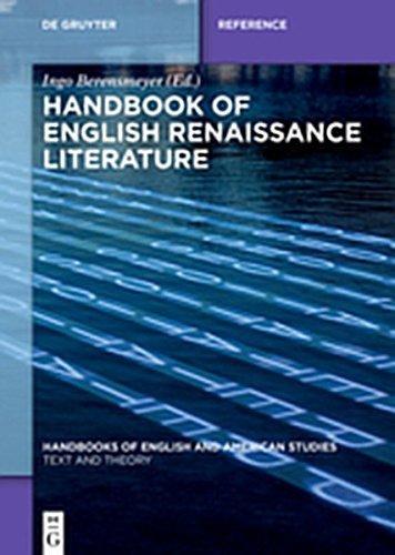 Handbook of English Renaissance Literature (Handbooks of English and American Studies)