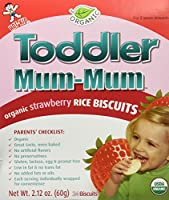Mum Mum for Toddlers Rice Biscuits - Organic Strawberry - 1.76 oz by Hot Kid