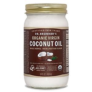 Dr.ブロナーバージンココナッツオイル USDA(米国農務省)認定 オーガニック&フェアトレード 414ml