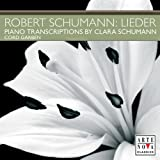 Lieder Transcription for Piano Clara Schumann