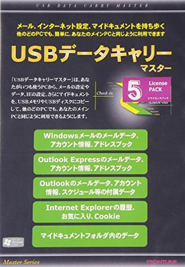 男らしさ小麦標準USBデータキャリーマスター 5Pack