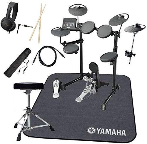 YAMAHA ヤマハ 電子ドラム DTX430KUPGS 3シンバル 純正マット付きオリジナルスターターパック一括セット