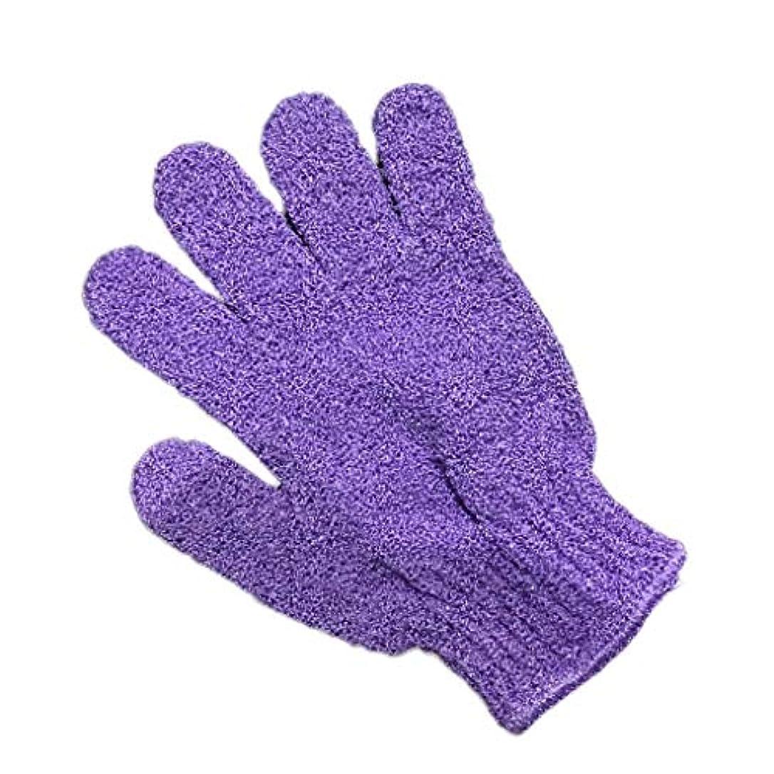 天文学達成可能彼らはTopFires お風呂用手袋 ボディウォッシュ手袋 入浴用品 垢すり用グローブ 抗菌加工 角質除去 泡立ち 男女兼用 便利なループ付け