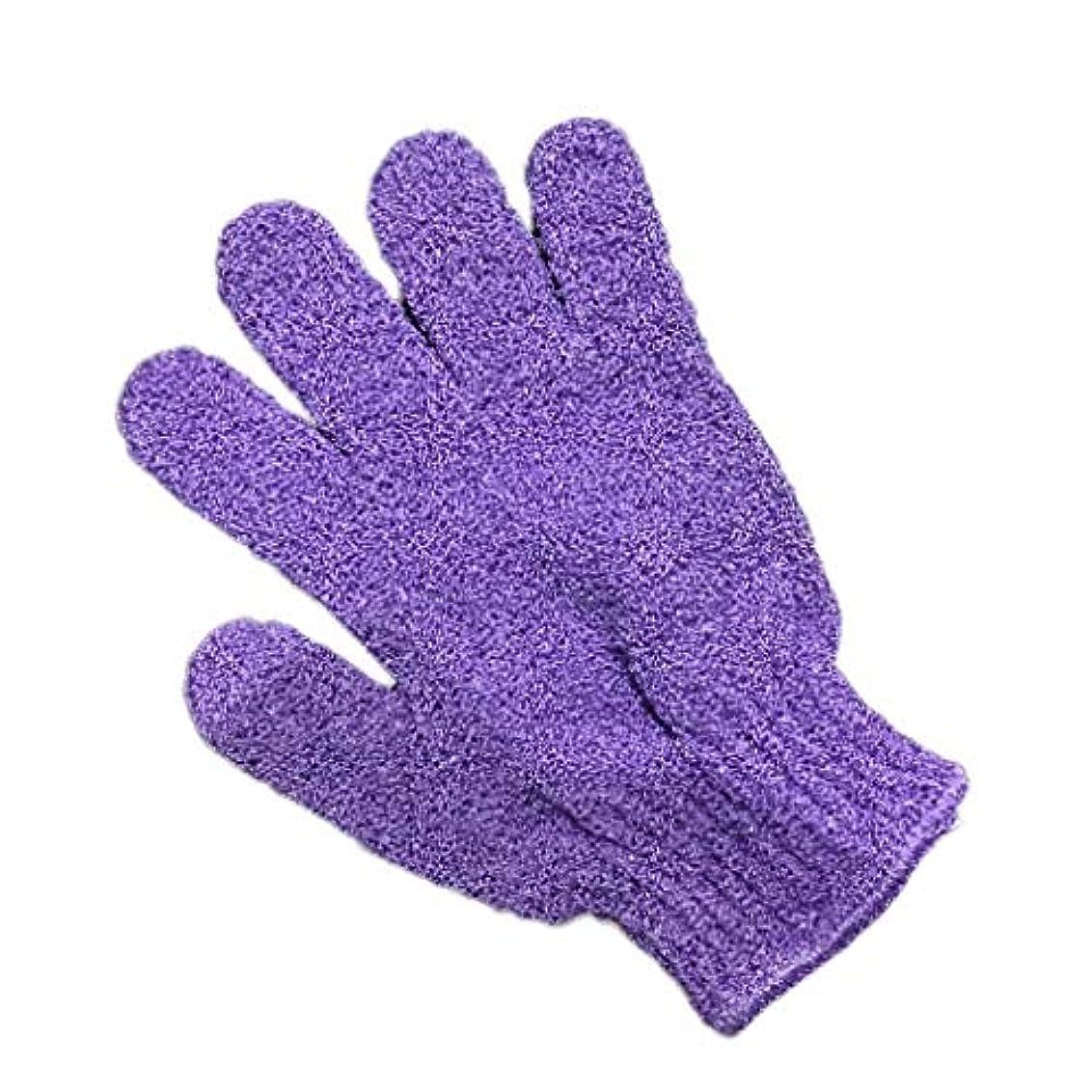 知的ヒットしばしばTopFires お風呂用手袋 ボディウォッシュ手袋 入浴用品 垢すり用グローブ 抗菌加工 角質除去 泡立ち 男女兼用 便利なループ付け
