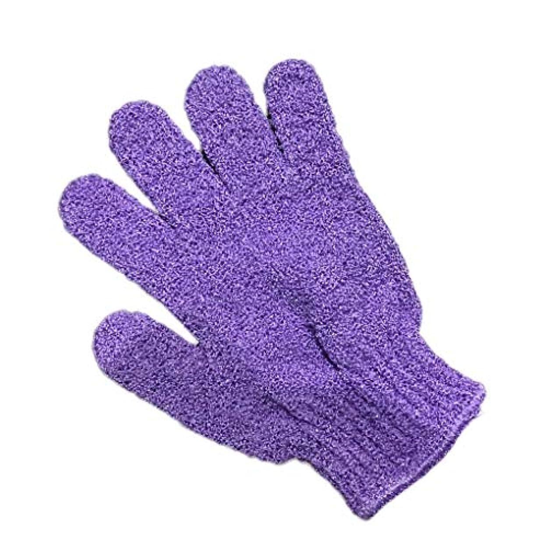 TopFires お風呂用手袋 ボディウォッシュ手袋 入浴用品 垢すり用グローブ 抗菌加工 角質除去 泡立ち 男女兼用 便利なループ付け