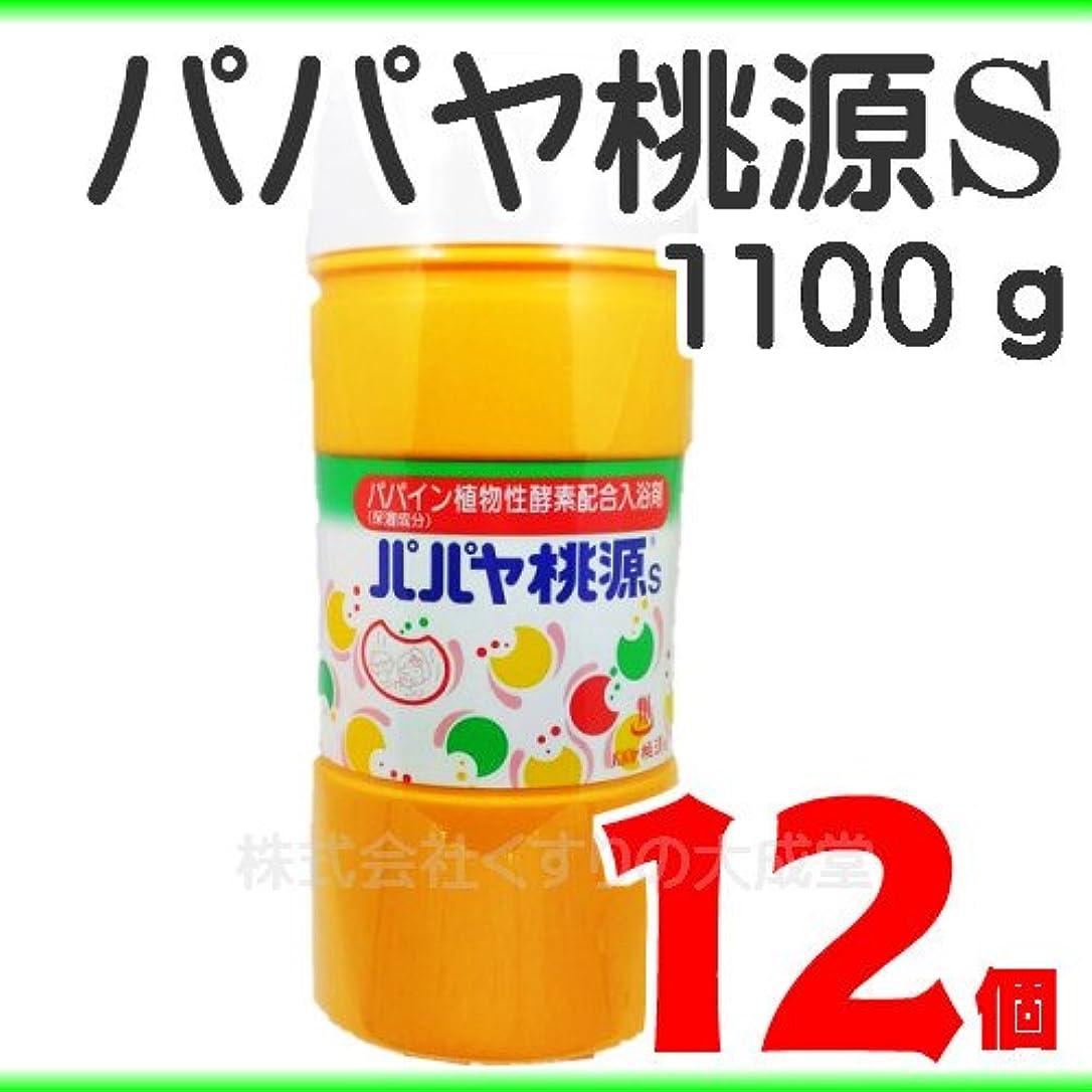 杖甘味テロパパヤ桃源S (1100g) 12個 パパヤとうげん
