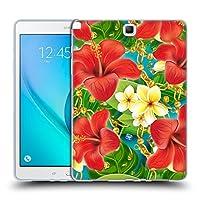 オフィシャル Mark Ashkenazi ハイビスカス トロピカル Samsung Galaxy Tab A 9.7 専用ソフトジェルケース