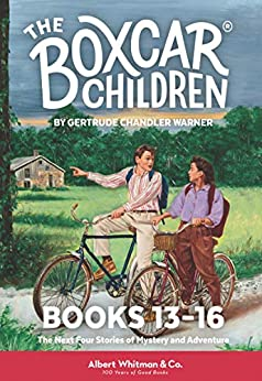 The Boxcar Children Mysteries Boxed Set #13-16 by [Warner, Gertrude Chandler]