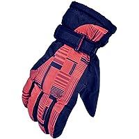 スキーグローブ スノーボードグローブ ウィンタースポーツ 登山 自転車手袋 撥水 防風 保温 滑り止め付 紛失防止