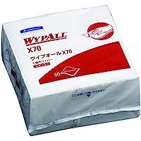 クレシア ワイプオール X70 4つ折り 50枚/パック  60570