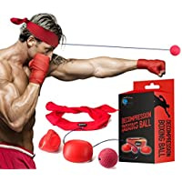 Cenblue® ボクシングのトレーニングボール 反射神経?動体視力?迅速な対応能力など鍛え ボクシング、ストライク、フリー戦闘、野球に最適
