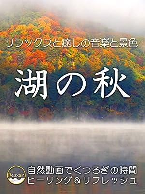 リラックスと癒しの音楽と景色 湖の秋 自然動画でくつろぎの時間 ヒーリング&リフレッシュ
