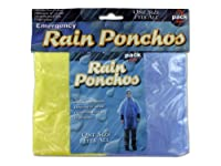 Bulk Buys GC025 Emergency Rain Ponchos Case of 144 by bulk buys