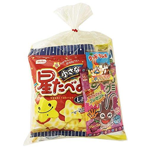 お菓子のセラーズ 地蔵盆用お菓子袋詰め300円